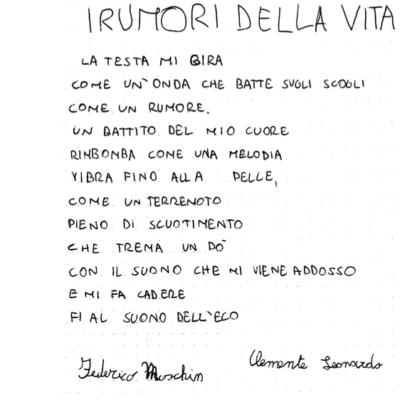 Poesia Federico e Clemente